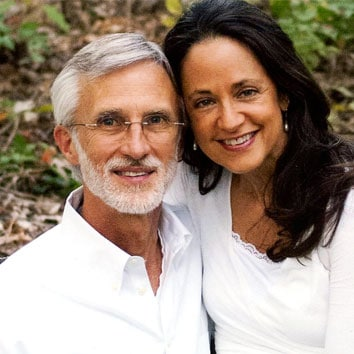 Dr. Mauldin and his wife Maureen